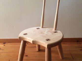 小椅子 ch0711 メープル 子ども椅子の画像