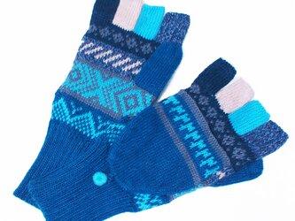 アルパカ ミトン手袋GU AU5784の画像