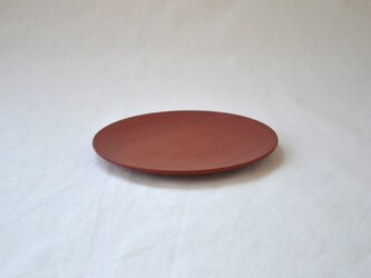 ichi Plate maru S /朱赤の画像