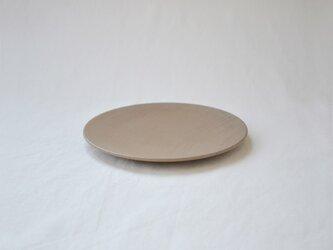 ichi Plate maru S /薄茶の画像