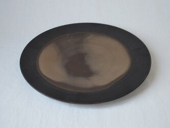 ichi Plate maru L /黒の画像
