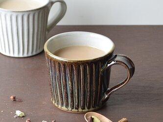 飴色しのぎのマグカップの画像