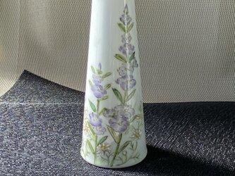 ミニ花瓶 麦絵の画像