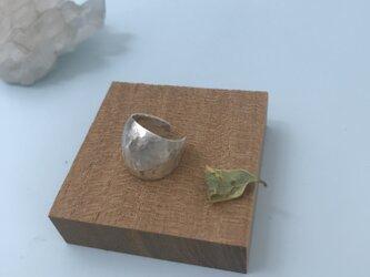 silver950ポイントボリュームカフ curlイヤーカフ ギフトボックス付き 片方 イヤリングユーザーにもの画像