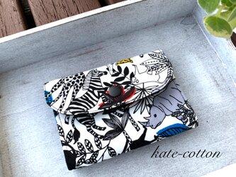 ■ミニ財布⭐︎アニマル・サファリ柄 !(ホワイト)の画像