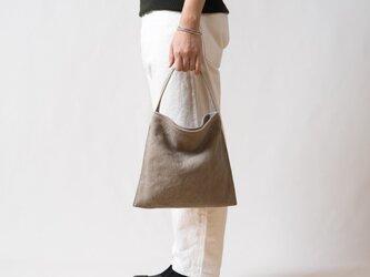 Mini Holiday bag タンベージュの画像