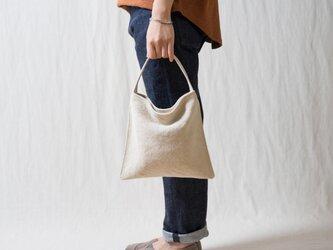 Mini Holiday bag 生成りの画像