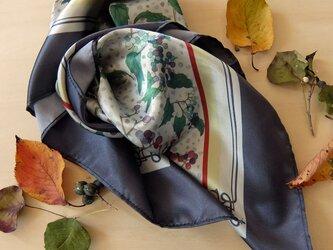 野ぶどうのスカーフの画像