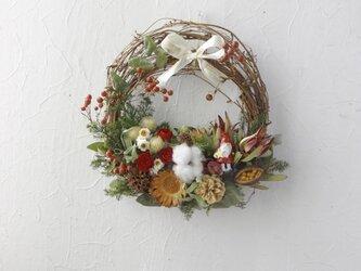 (再販)Christmas in Santa's forest(リース)の画像