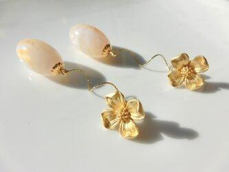 gold flowerの画像