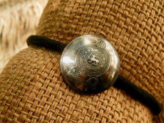 #H150 Sri Lanka coin Hair Elasticの画像