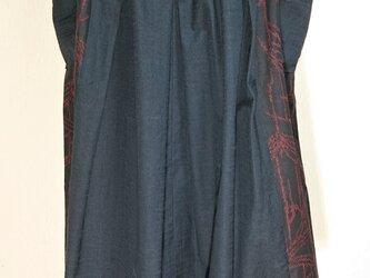 結城紬スカート 200120の画像