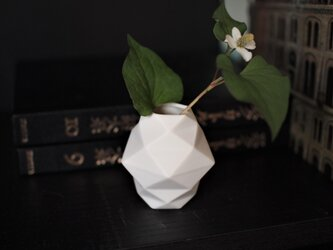 origami一輪挿し(ホワイト)の画像