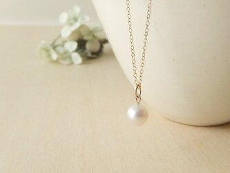 アコヤ真珠7㎜珠ネックレス(14kgf)の画像