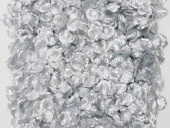 フラワーシャワー 造花 結婚式 シルバー 銀色 パーティー ウェディング 2次会 披露宴の画像