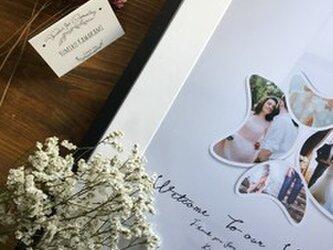 結婚式 ウェルカムボード額セット フォトメモリーズの画像