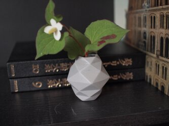 origami一輪挿し(グレー)の画像