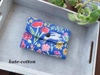 ■軽い! ミニ財布⭐︎マイケル・ミラー☆USAコットン・ボタニカル・ウサギの画像