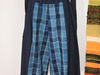 古布切り替えパンツ 200211の画像