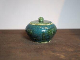 2 緑釉 香合 ご注文者様専用ページの画像