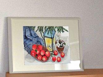 A4ポスター 林檎の画像