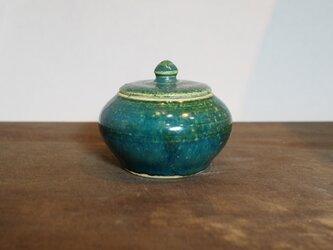 5 緑釉 香合 ご注文者様専用ページの画像