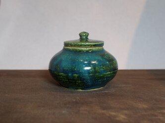 6 緑釉 香合 ご注文者様専用ページの画像