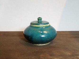 7 緑釉 香合 ご注文者様専用ページの画像