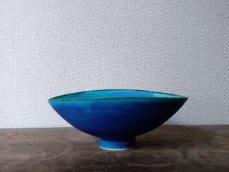 トルコ青 鉢の画像