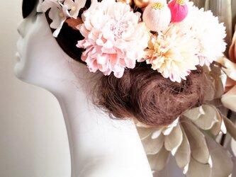 fuwayuru 大人可愛いくすみ色髪飾り9点Set No769の画像