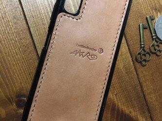 各機種対応 leather smartphon case FORANRO originalの画像