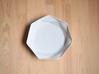 origamiプレート大(ホワイト)の画像