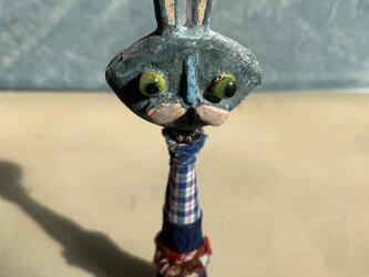 メルヘンコケシのウサギちゃんの画像