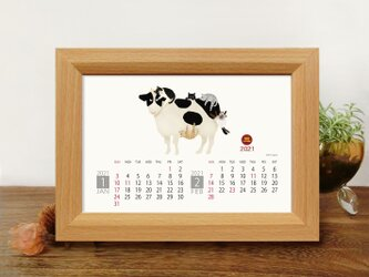 猫 2021年カレンダーの画像