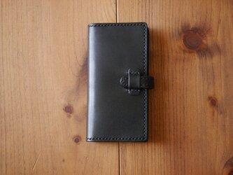 栃木レザーiPhoneケース(ブラック)の画像
