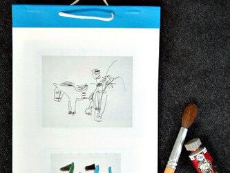 無名の絵描きによる手作りカレンダーの画像