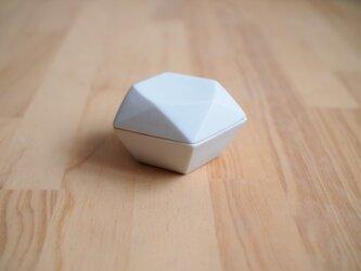 origamiボンボニエール・香合(ホワイト)の画像