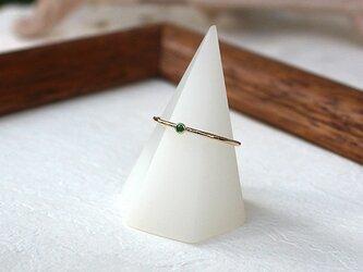 十金四大宝石指輪エメラルド rr-135-eの画像