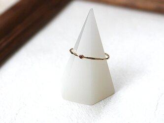 十金四大宝石指輪ルビー rr-135-rの画像