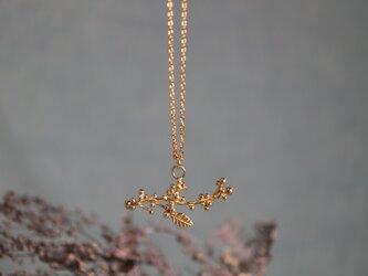 Brass necklace「Light singing voice」の画像