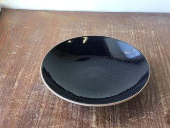 深皿 瑠璃7寸の画像