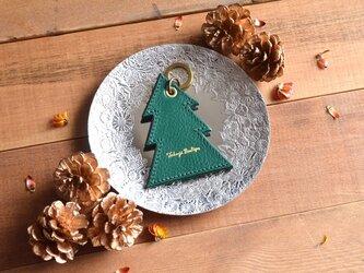 Christmas【レザーオーナメント】〜X'mas tree〜の画像
