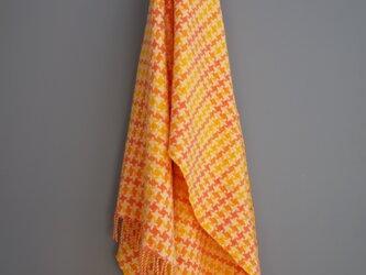 Lambswool blanket - puzzleの画像