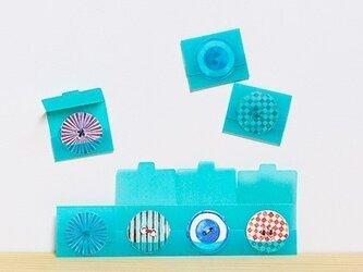 カード 2個セット ボタンポッケの画像