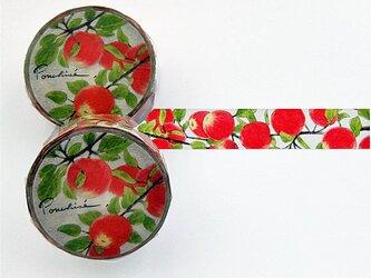 林檎のマスキングテープの画像