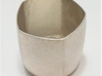 純銀/酒器  お猪口 5角 の画像