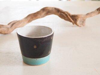 音の鳴るフリーカップ(青/ターコイズ)の画像