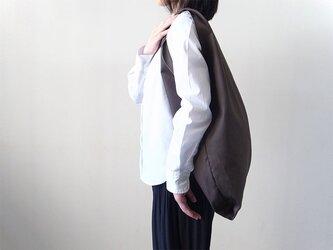 Bicolor Cloth Bag (チャコールグレー):カレン クオイルの画像