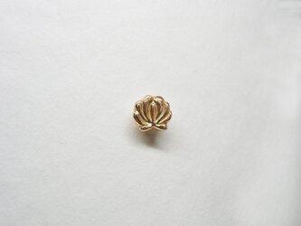 ★N様専用★セミオーダー・ハンガリーの刺繍モチーフ花ピアスK18YGの画像