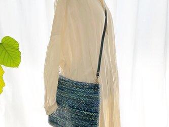 blueletter 手織りツィードバックの画像